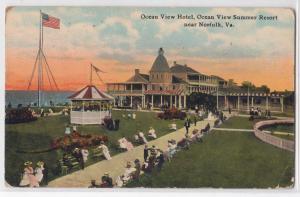 Ocean View Hotel, Summer Resort, Norfolk VA
