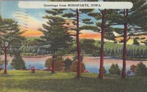 Greetings From Bonaparte Iowa 1957