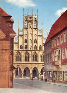 BT11633 Munster rathaus        Germany