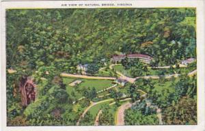 Virginia Air View Of Natural Bridge 1936