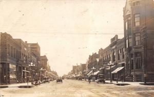 St Cloud MN~St Germain Street~Ruettell Clothier~Dentist~Bargain Store~c1914 RPPC