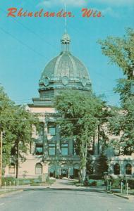 RHINELANDER, Wisconsin, 40-60s; Court House