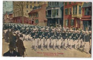 Naval Apprentices on Parade, Newport RI