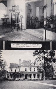 BENNETTSVILLE, South Carolina, 10-20s; The Haven, Mrs. C. E. Exum, Prop.
