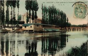 CPA MELUN - Vue prise de la Promenade de l'Almont (436319)