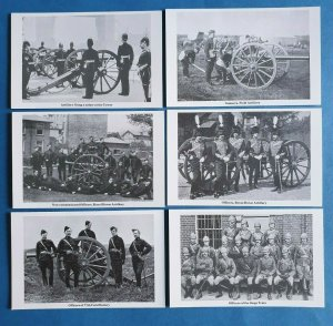 The British Army - Artillery Postcards Set of 6 Cards by Geoff White Ltd