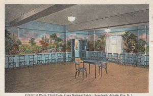 ATLANTIC CITY, New Jersey, 1910s; Committee Room, Third Floor, Crane National...