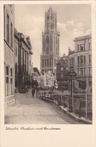 RP: UTRECHT , Netherlands , 30-40s ; Stadhuis met Dontoran