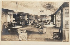 RP: NEW YORK CITY , N.Y. , 1900-10s ; Library , The Biltmore Hotel
