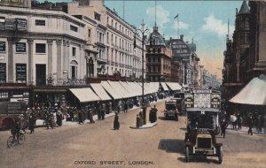 LONDON, England, United Kingdom; Oxford Street, 00-10s