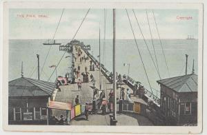 Kent; The Pier, Deal PPC, By GD & DL, Unposted, c 1910's