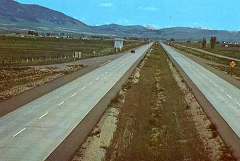 MT - Gallatin Valley, Interstate 90