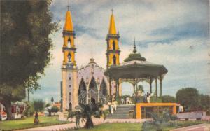 MAZATLAN SINALOA MEXICO~CATEDRAL CATHEDRAL POSTCARD 1955