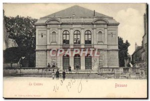Old Postcard The Theater Beaune