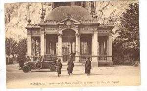 Ascenceurs De Notre Dame De La Garde, La Gare Du Depart, Marseille (Bouches-d...