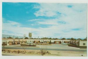 Tucson AZ Arizona  Marilyn Motel 1960 Postcard
