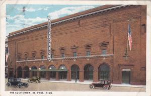 ST. PAUL, Minnesota, PU-1928; The Auditorium