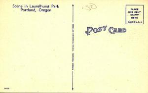 OR - Portland. Scene in Laurelhurst Park