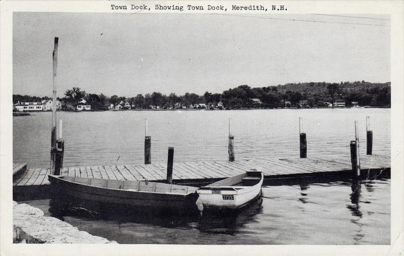 Town Dock, MEREDITH, New Hampshire, 40-60´