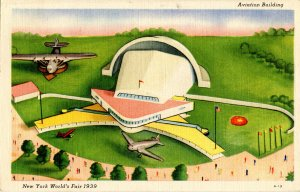 NY - New York World's Fair, 1939. Aviation Building