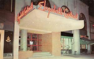 Elizabeth New Jersey Carteret Hotel Street View Vintage Postcard K53312