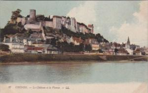 France Chinon Le Chateau et la Vienne