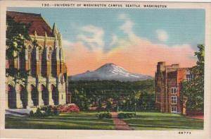 University Of Washington Campus Seattle Washington 1944