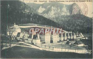 228 Old Post Card great runner chartreuse general view of the monastery
