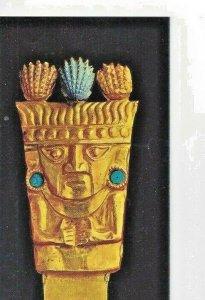 Gold Museum Tarjeta Postal Copyright by Museo Oro Del Peru Lima Park Postcard