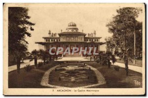 Old Postcard Arcachon Moorish Casino