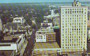 Florida Jacksonville Adams Street Looking East