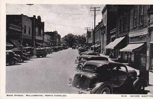 North Carolina Williamston Main Street