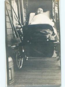 Old rppc KIDS - CHILDREN SCENE Great Postcard AB1889