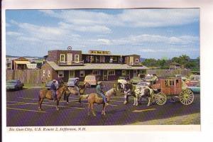 Six Gun City, Cowboys on Horses, Stagecoach Jefferson, New Hampshire, Bromley