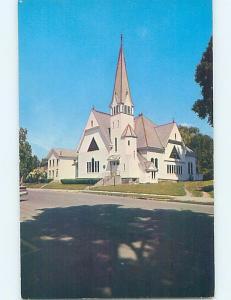 Pre-1980 CHURCH SCENE Hoosick Falls - Near Troy New York NY A9198