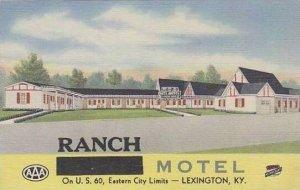 Kentucky Lexington Ranch Motel