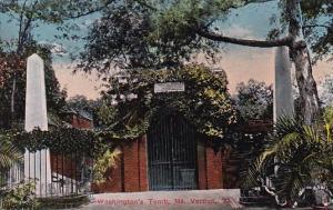 Washingtons Tomb Mount Vernon Virginia