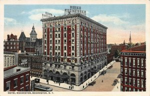 Hotel Rochester, Rochester, New York, 1916 Postcard, Unused