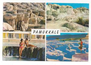 Turkey Pamukkale Multiview Hierapolis Vtg Postcard 4X6