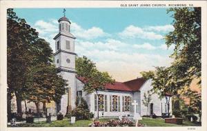 Virginia Richmond Old Saint Johns Church