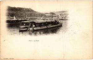 CPA Geiser 18 Oran Le port ALGERIE (756854)