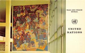 New York City~United Nations-War & Peace Mural (Candido Portinari) from Brazil