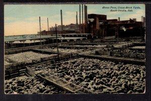 Sheep Pens,Union Stock Yards,South Omaha,NE BIN