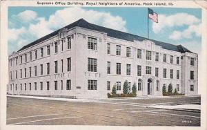 Illinois Rock Island Supreme Office Building Royal Neighbors Of America