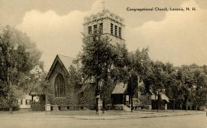 NH - Laconia. Congregational Church