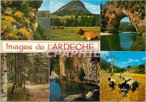 Modern Postcard Pictures of the Genets Ardeche Mount Gerbier de Jonc Bridge o...