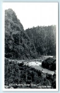 RPPC KLAMATH RIVER, CA ~ View of the RIVER  c1950s Eastman  Postcard