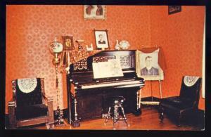 Jackson, Tennessee/TN Postcard, Parlor/Casey Jones RR Museum