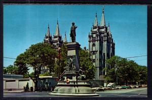 Brigham Youyng Monument,Salt Lake City,UT