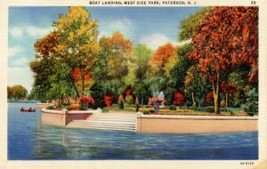 NJ - Paterson. West Side Park, Boat Landing